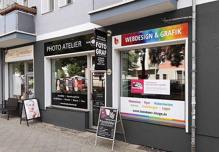 Außenansicht Bussmann Design Wichertstraße 41