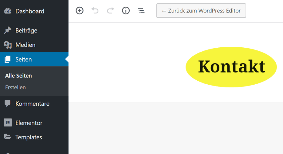 Seitentitel in WordPress ändern