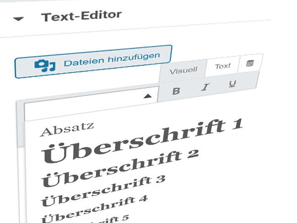 So formatieren Sie Ihren Text in Ihrer Webseite richtig